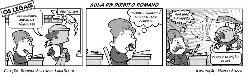 Os Legais em Aula de Direito Romano